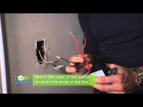 how to install a dimmer switch youtube rh youtube com