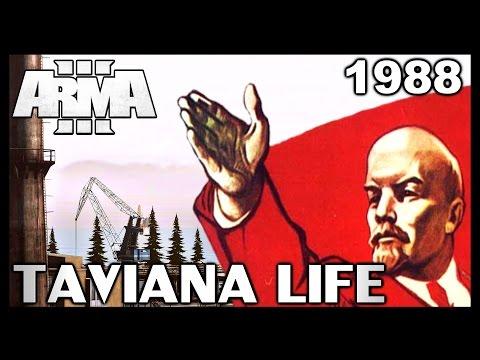 Arma 3 Taviana Life - Симулятор СССР [Rodina Life] #1