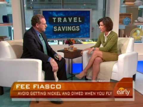 Kelly Cobiella interviews CBS News Travel Editor Peter Greenberg about avoiding airfare fees