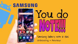 Gambar cover Samsung Galaxy Note 10 Plus | unboxing and review | Harvey Delfin