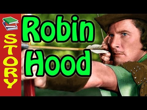 Learn English through story - Robin Hood - Beginner to Intem