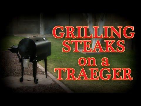 grilling-steaks-on-a-traeger-pellet-smoker-grill