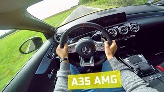 Mercedes A35 AMG (306 HP) POV Acceleration sound