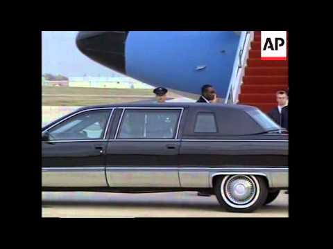 USA: HILLARY CLINTON LEAVES FOR TOUR OF FORMER SOVIET COUNTRIES