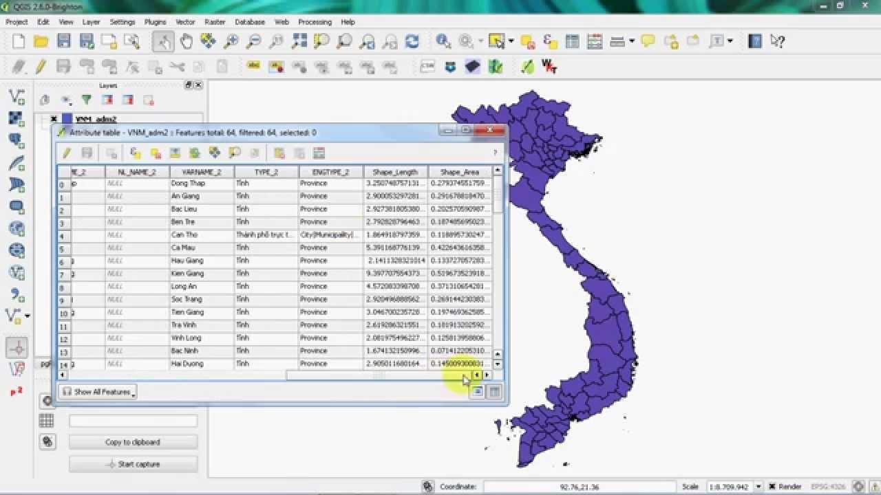 [Basic] QGIS - Open Esri File Geodatabase