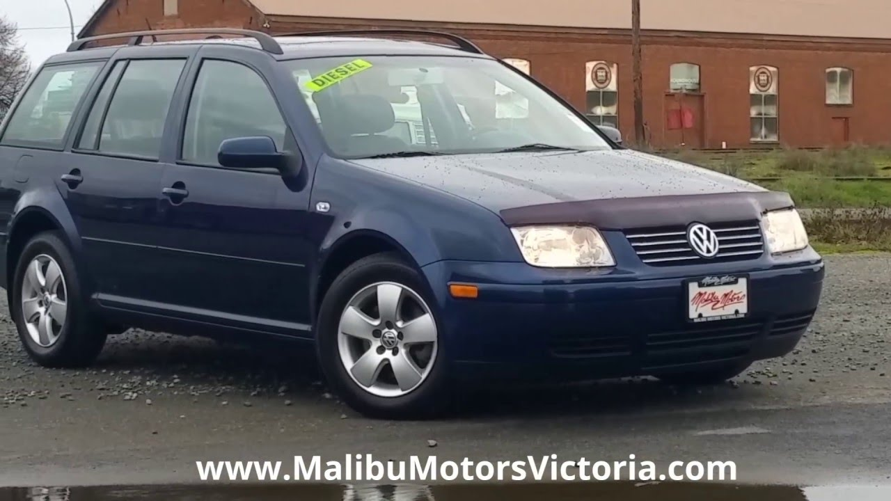 2004 volkswagen jetta wagon tdi turbo diesel malibu motors victoria bc youtube. Black Bedroom Furniture Sets. Home Design Ideas