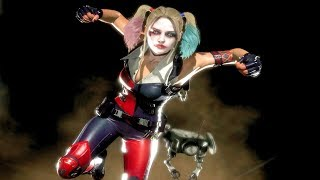 MK11 Harley Quinn Performs All Victory Celebrations Outro 1 (Cassie Quinn Skin)