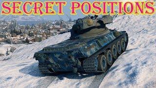 SECRET POSITIONS ● World of Tanks ● map Windstorm ● Update 9.21