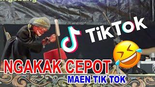 Download lagu PARAH NGAKAK... CEPOT KABAWAKEUN MAEN TIK TOK