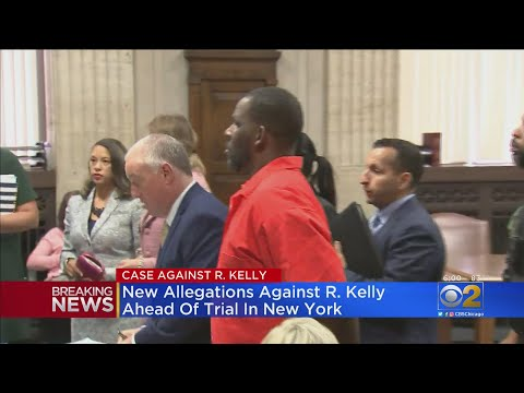 New Allegations Of Abuse Against R. Kelly Ahead Of New York Trial
