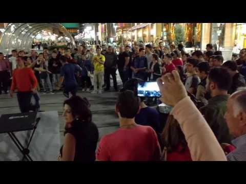 Armenia 31: Street Performance Near Yerevan 1