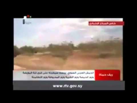 شاهدوا العقيد النمر سهيل الحسن بريف حماة مع نموره ساحقين الإرهاب