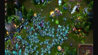 League of Legends: Swarm Method