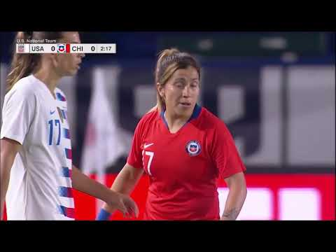 USWNT Vs. Chile (August 31, 2018)