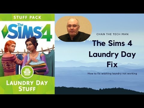 The Sims 4 Laundry Room Fix |