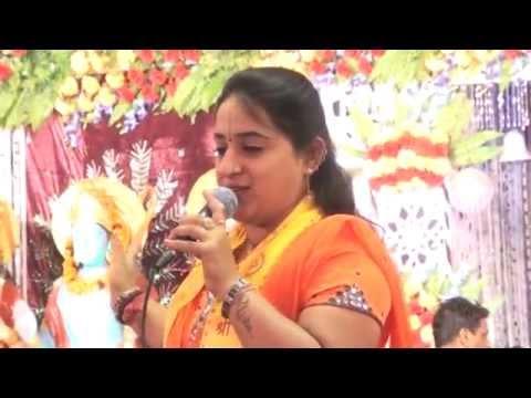 Kisne sajaya khatu wale ko banra bnaya khatu wale ko and o tali bajan de:By Nisha Dutt-Delhi