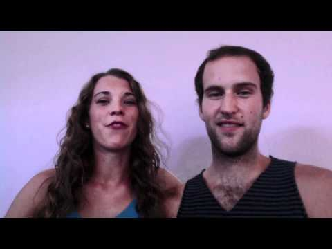 Seth and Jessie Huber at Hands Across the Sea --- ...