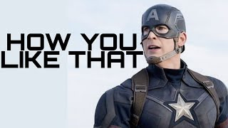 How you like that- Captain America||Iron Man/ Blackpink