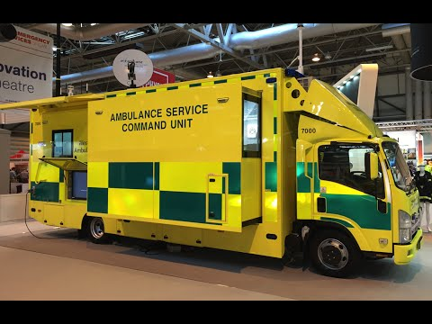 Excelerate - West Midlands Ambulance Service Command Vehicle Launch
