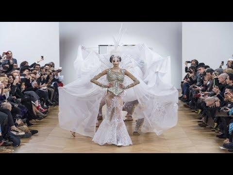 On Aura Tout Vu | Haute Couture | Spring/Summer 2018...Fashionweekly..On Fow24news.com