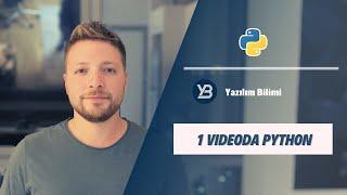 1 Videoda Python Öğrenin