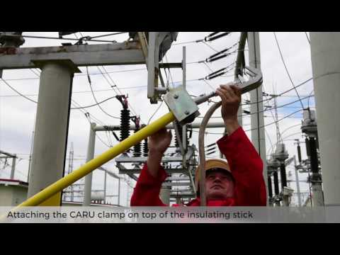 How To Apply The Earthing Device In HV/MV Substations With Guidance Device For Insulating Sticks
