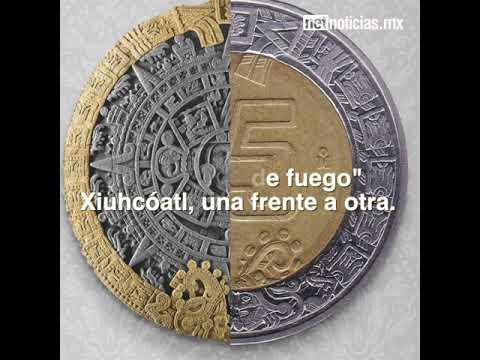 d7b04794a90 Monedas forman el Calendario Azteca - YouTube