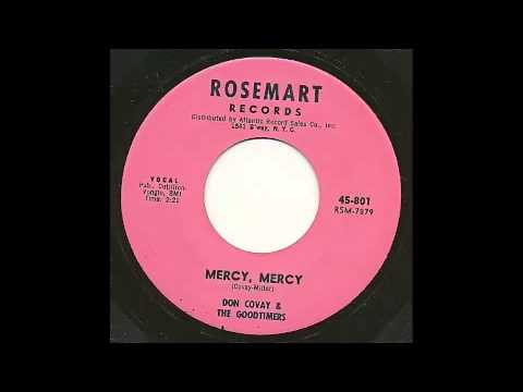 Don Covay & Goodtimers - Mercy, Mercy 45 rpm!
