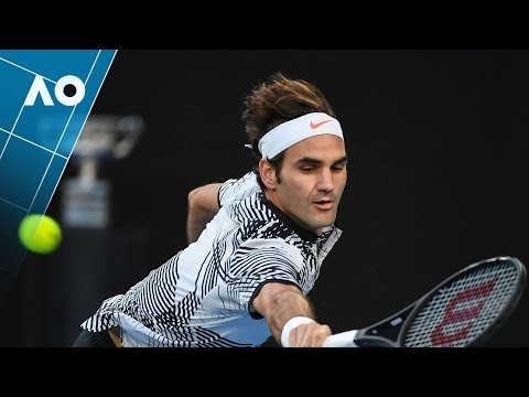 Thumbnail: Federer's epic five set Championship highlights | Australian Open 2017