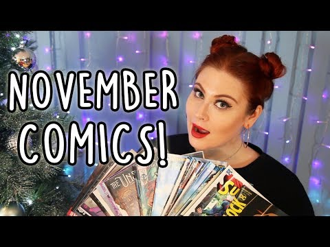 NOVEMBER 2017 COMIC BOOK HAUL