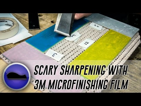 The Scary Sharp System - 3M Microfinishing Film Products