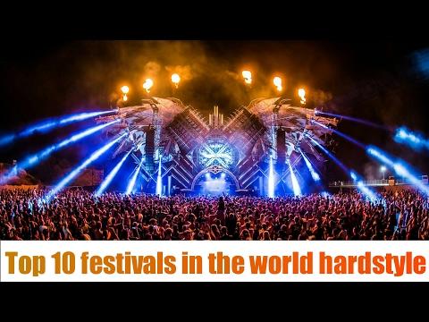 Top 10 festivals Hardstyle World 🔥🔥