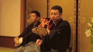 鼓 望月太三郎 三味線 杵屋五吉郎 場所 川崎大師 2013.5.24.