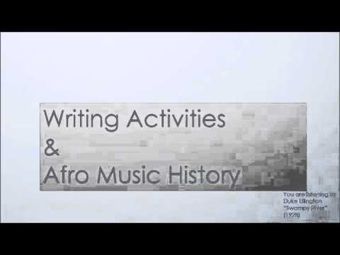Young Afro Music History Scholars Write