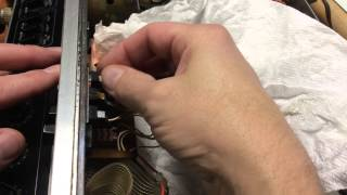 Cobra 135XLR CB Radio Touch Up Work