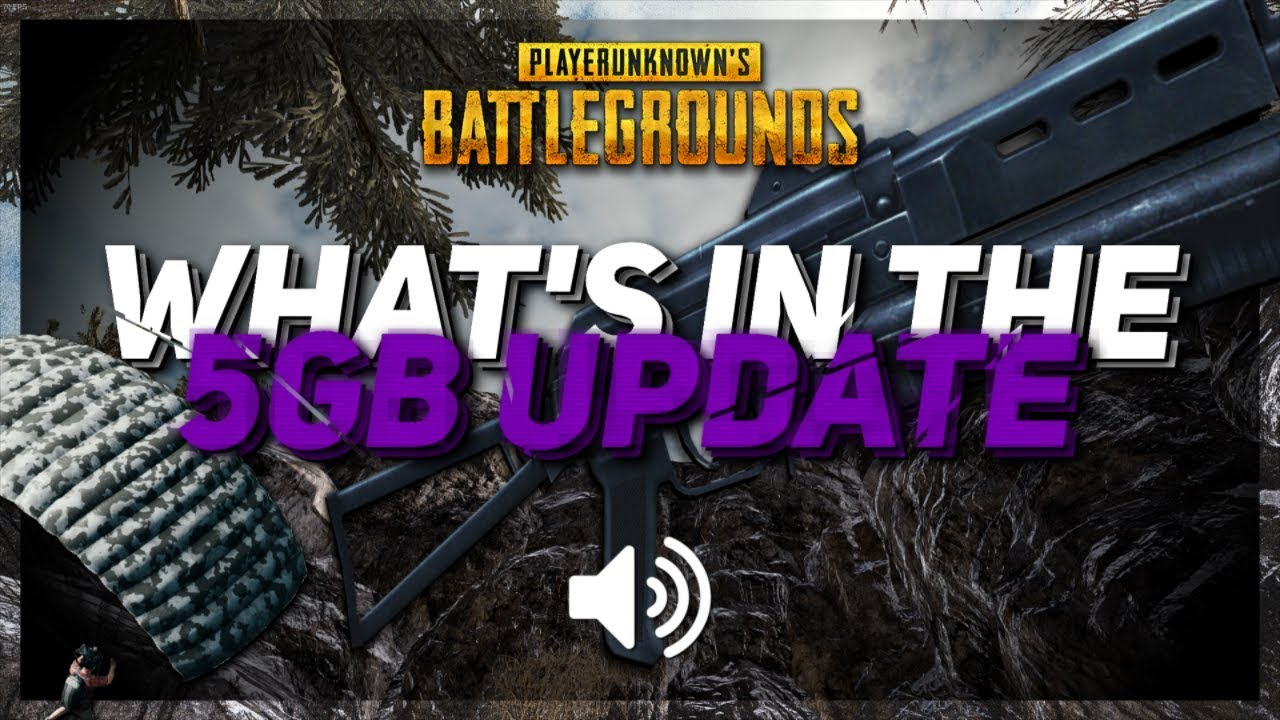 What we found in PUBG: Test 5GB Update