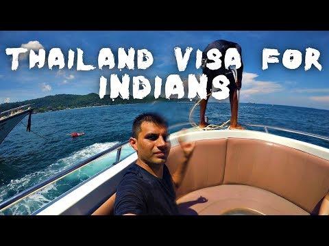 Thailand Visa For Indians & Its Procedure ( Visa on Arrival & Tourist Visa in Hindi)