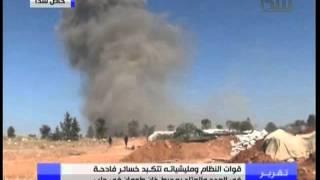 تحرير بلدت خان طومان الاستراتيجية ومقتل العشرات من حرب الله اللبناني على ايدي المجاهدين
