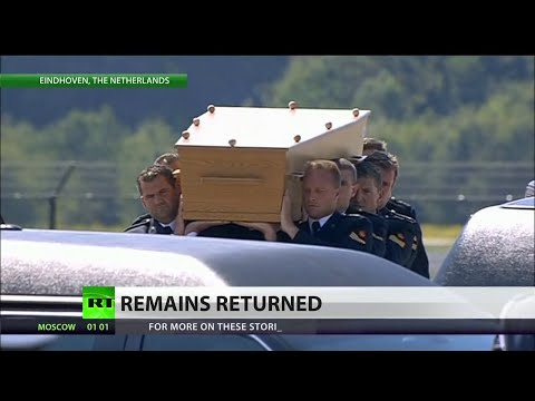 MH17 victims returned to the Netherlands