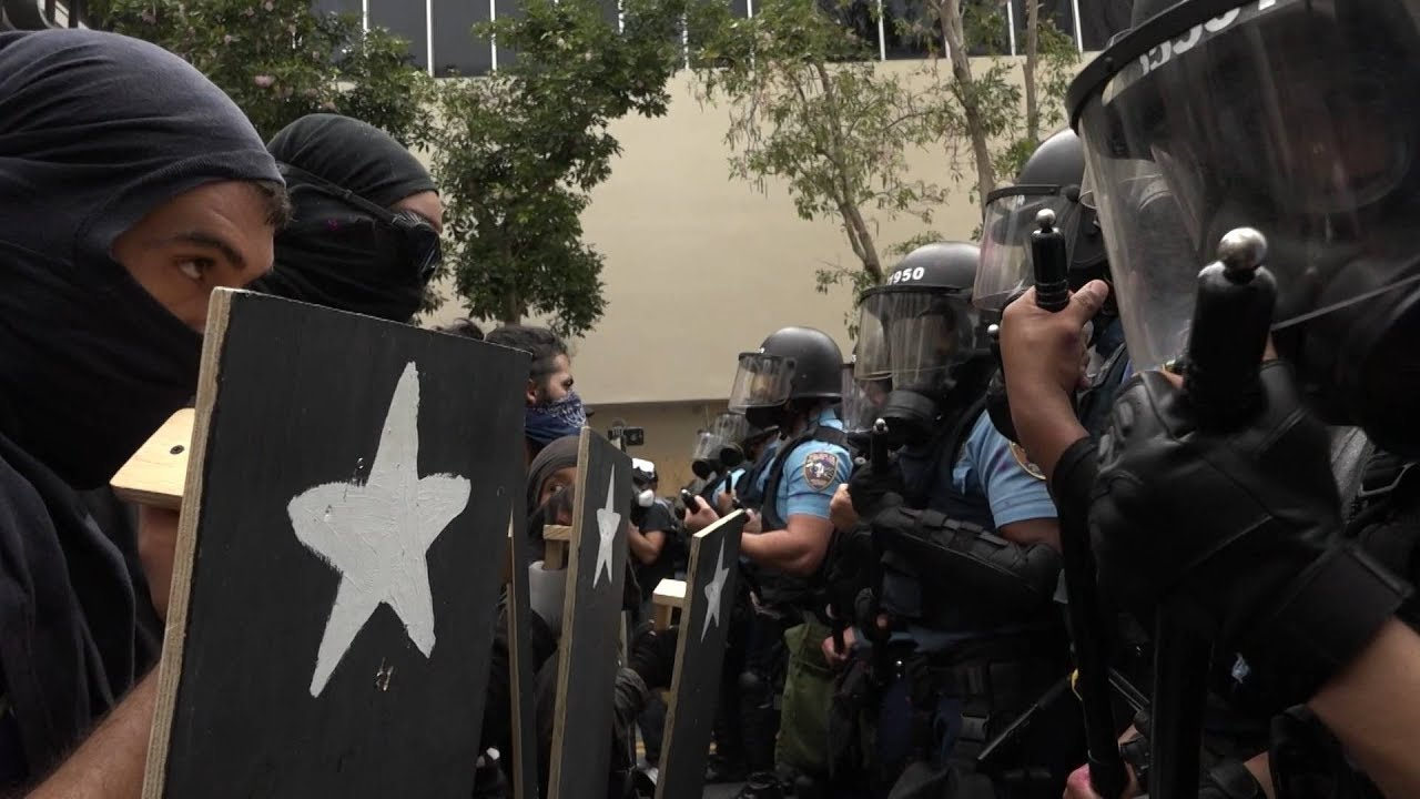 Police gassed protesters calling for the resignation of Puerto Rico's governor. Here's how we got here