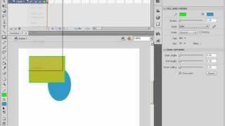 Работа с масками слоев в Adobe Flash CS4 (26/46)