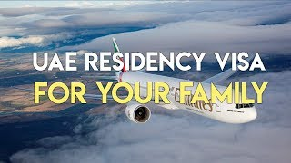 How to get residence visa for your spouse in the UAE.