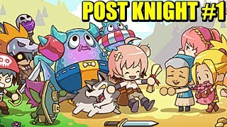AVENTURAS DEL CABALLERO CARTERO - POST KNIGHT (Android) | Gameplay Español