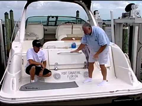 SeaDek - Ship Shape TV - Sea Ray Sundancer 350