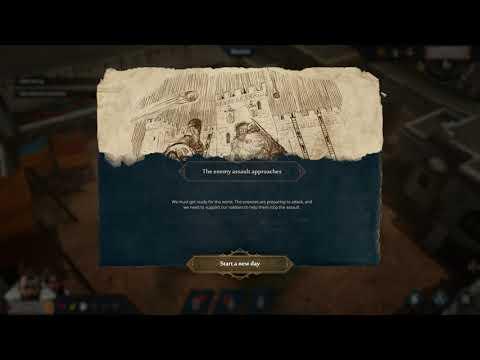 Siege Survival Gloria Victis - Gameplay - New Game - Lost Caravan - day 5-6 |