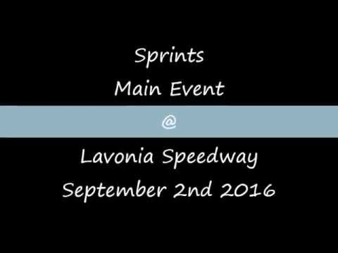 Sprints Main @ Lavonia Speedway September 2nd 2016