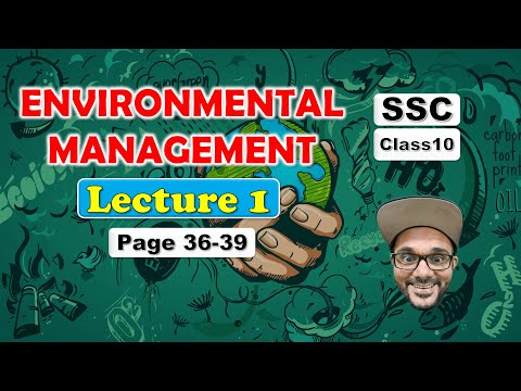 Environmental Management Class 10 Lecture 1 || SSC Maharashtra State Board
