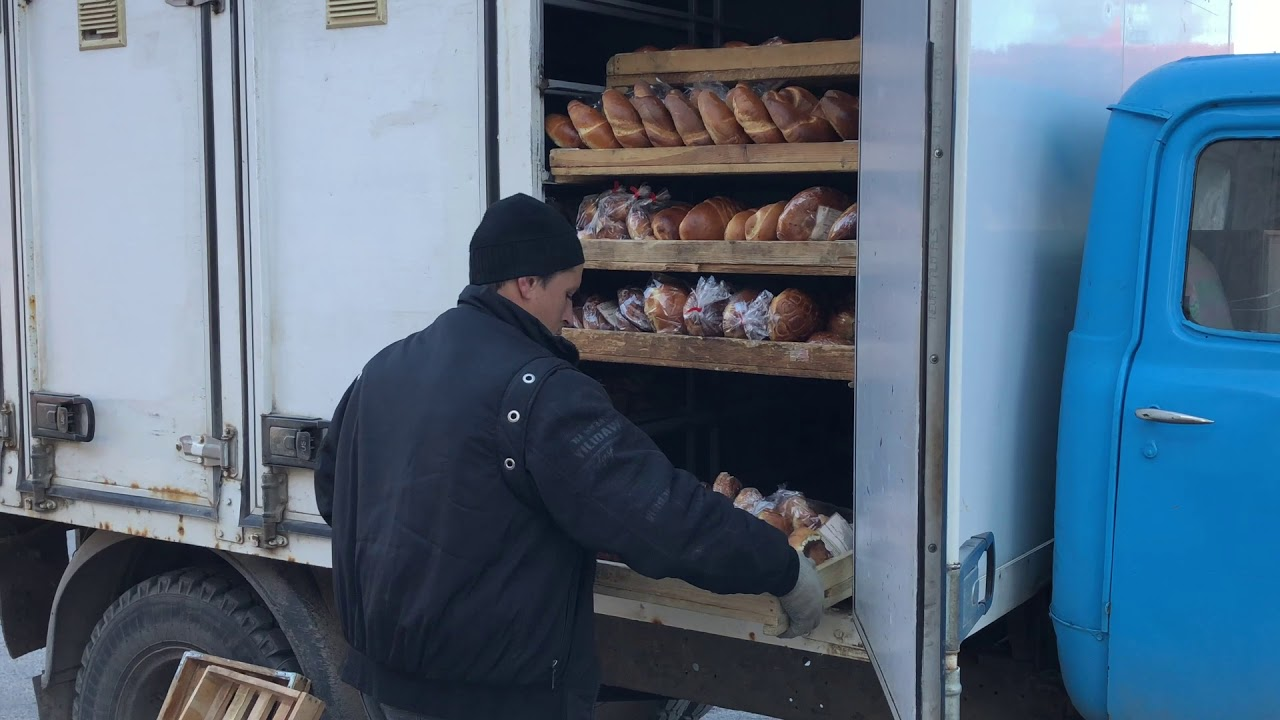 Bakery Delivery Truck Belarus - YouTube