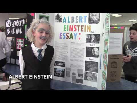 Suffield Middle School Wax Museum