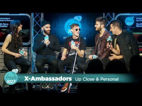 X Ambassadors Up Close & Personal at Fresh 102 7